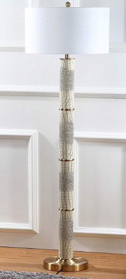 Safavieh Faux Crocodile Floor Lamp