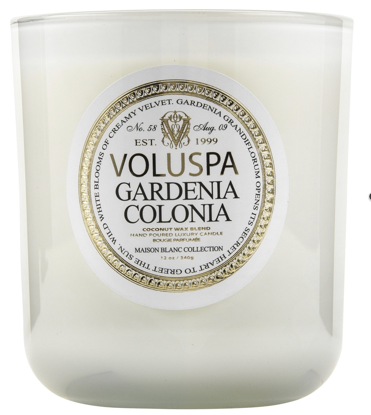 Voluspa Gardenia Colonia Candle