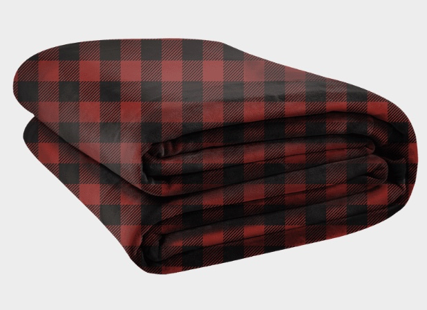 Plaid Oversized Blanket
