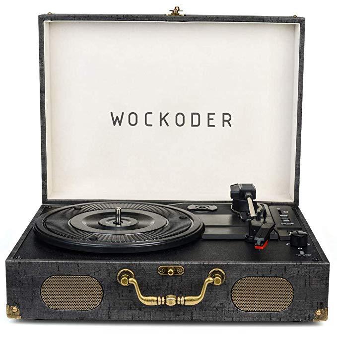 Classic Suitcase Vinyl Turntable