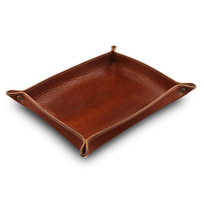 Leather Tray Organizer