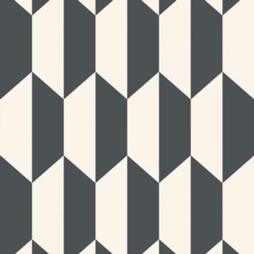 Tile Black & White Wallpaper