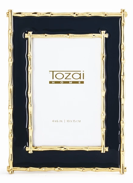 Brynn Navy & Gold Picture Frame