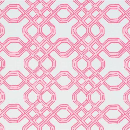 Well Connected Conch Pink Wallpaper