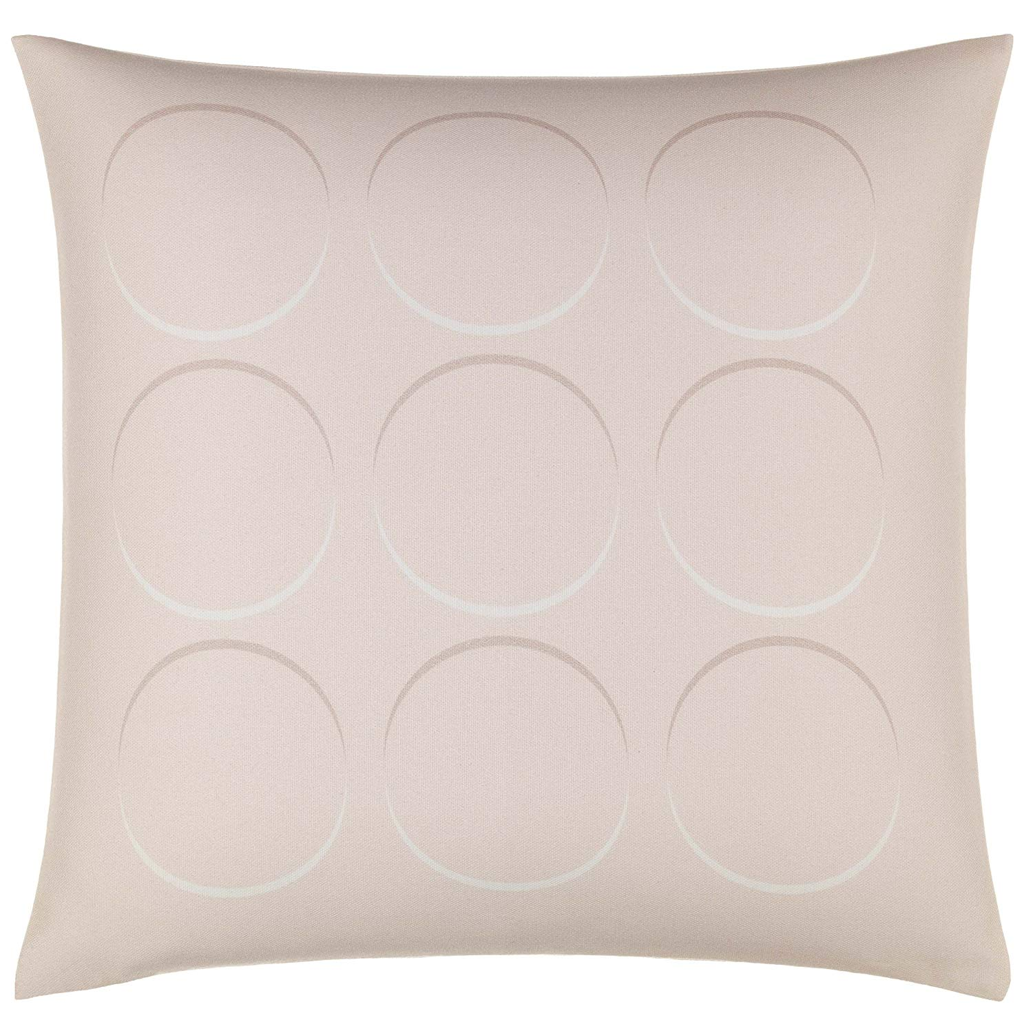 Optical Circles Throw Pillow
