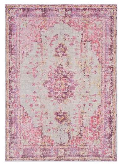 Antioch Rug by Surya in Pink