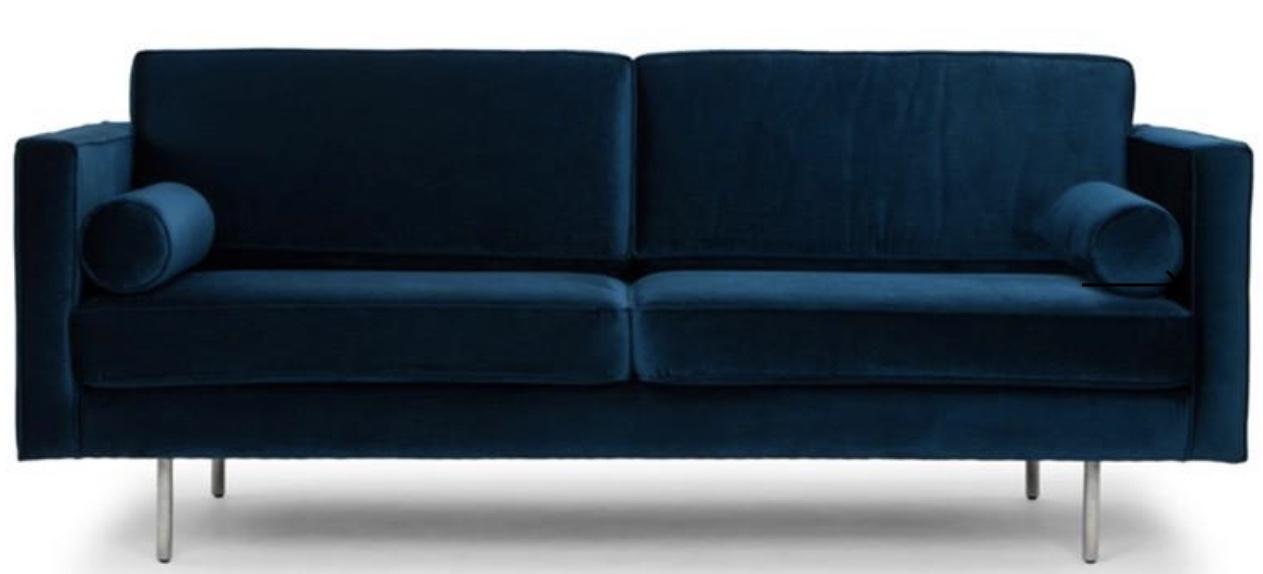 Cyrus Sofa in Midnight Blue