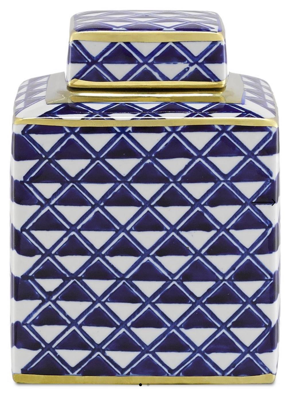 Juko Blue Jar