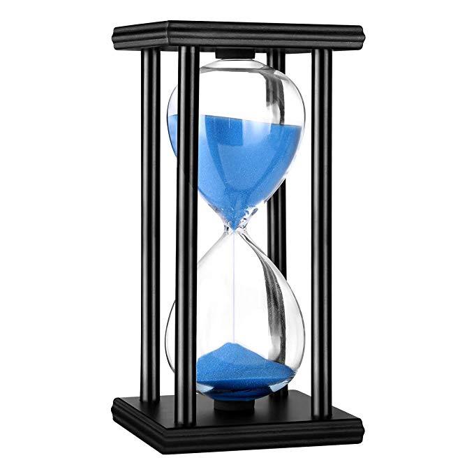 Blue Hourglass Timer