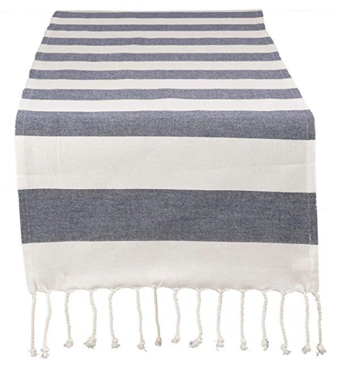 Nautical Striped Table Runner