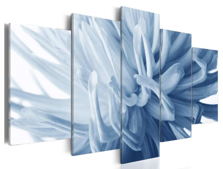 Blue Flower Wall Art