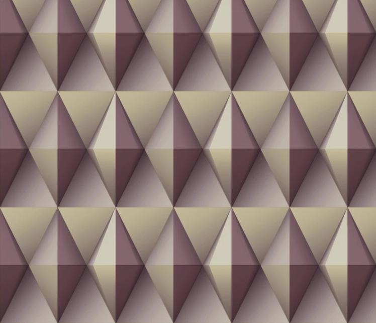 Paragon Geometric Print Wallpaper