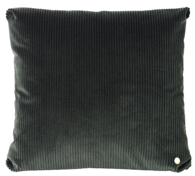 Green Corduroy Cushion