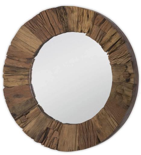 Rustic Reclaimed Wood Mirror