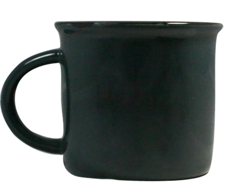 Tinware Mug in Dark Slate