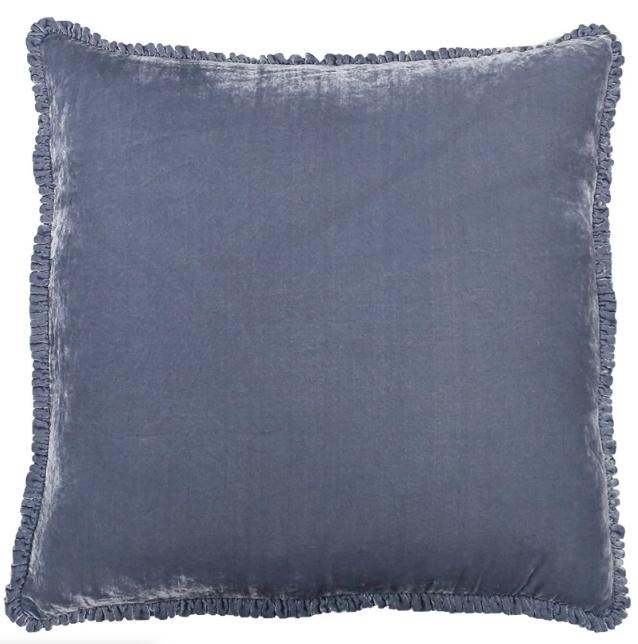 Silk Velvet Throw Pillow