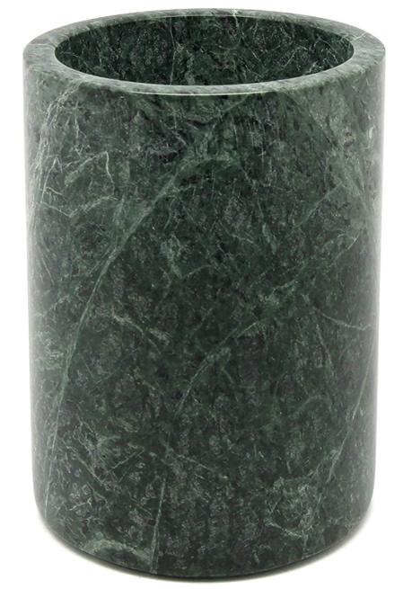 Green Marble Utensil Holder