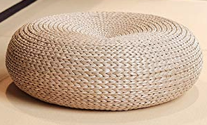Wicker Pouf