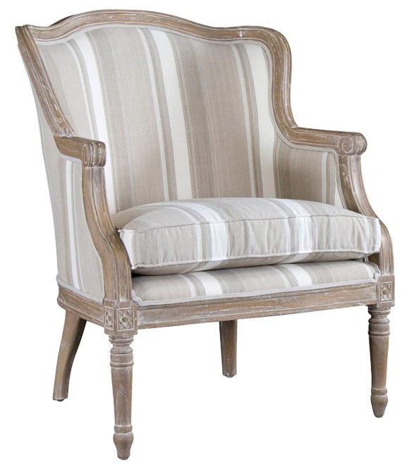 Traditional French Accent Chair