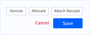New Action Buttons