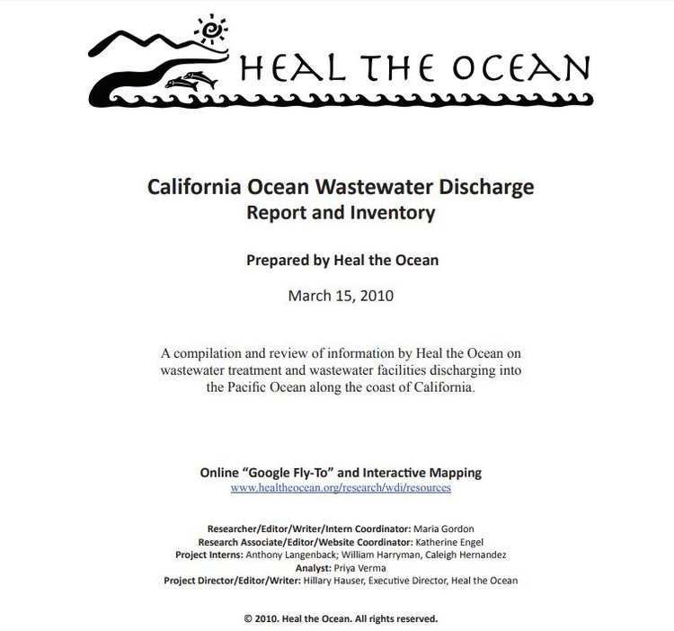 Wastewater & Recycling — Heal The Ocean