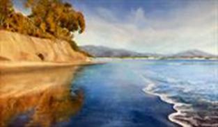 "Virginia Kamhi ""Butterfly Beach Reflections"""
