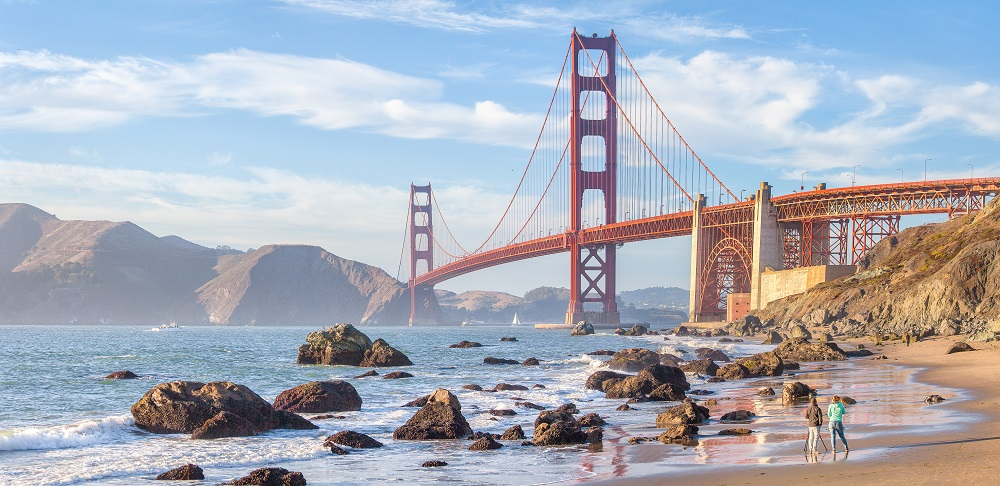 Golden Gate Bridge in San Francisco, CA. Photo (c) Canadastock