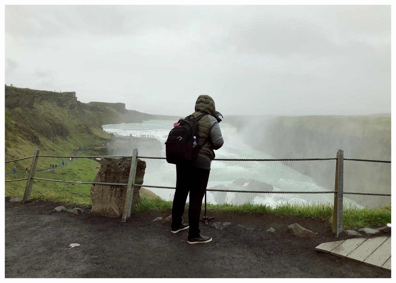 Shooting the Gullfoss Waterfall (Golden Circle - Hvítá River, Iceland)