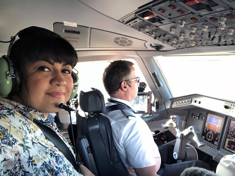 Pilot POV - Riding Jumpseat in an E175 to North Dakota