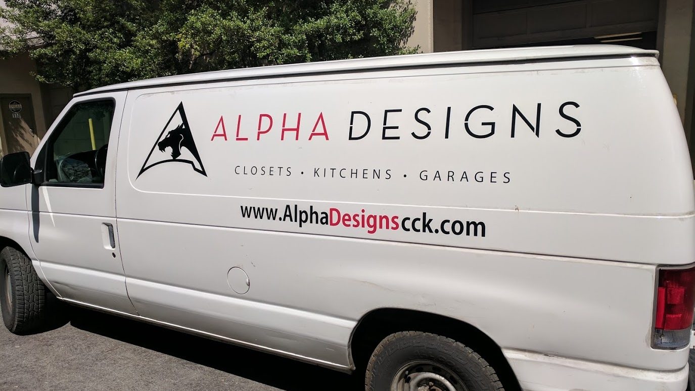 Vehicle LETTERING or Wrap -
