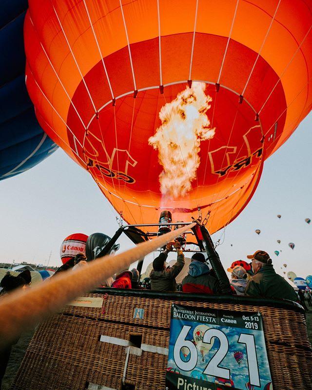 """The Balloon Fiesta was """"Lit"""" 🤙"""