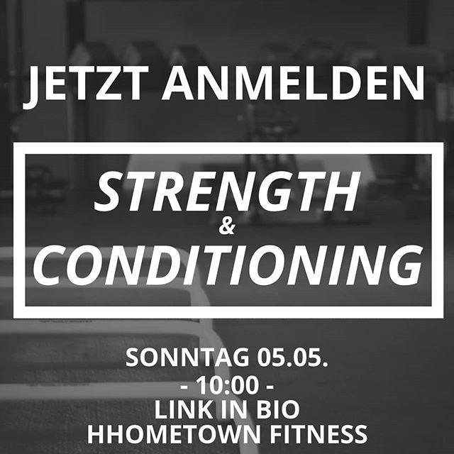 Jetzt anmelden für Sonntag. Link in bio. — Bei gutem Wetter draußen! — 🏋🏼♂️: Strength & Conditioning 🕙: 10:00-11:00 📍: HHometown Fitness 🎟: Anmeldung via Link in bio (Probestunde kostenlos) — #health #fitness #fit #fitinhamburg #strengthandconditioning #hhometownfitness #fitnessaddict #fitspo #workout #bodybuilding #cardio #gym #train #training #health #healthy #instahealth #healthychoices #active #strong #motivation #ostern #determination #lifestyle #diet #getfit #cleaneating #eatclean #exercise