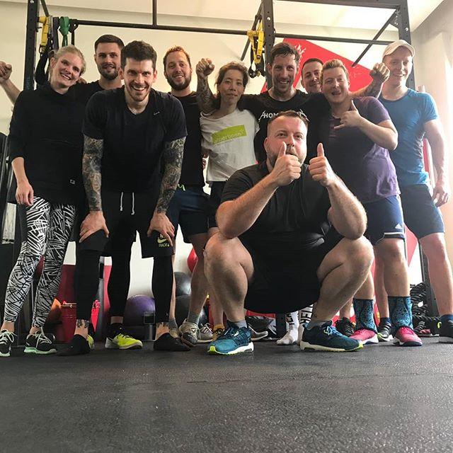Join us! Jeden Sonntag gibts bei HHometown Fitness Strength & Conditioning vom Feinsten. 👌🏻 --- Anmeldung: - Link in Bio - @onefit.global - @myfitnesscard.de