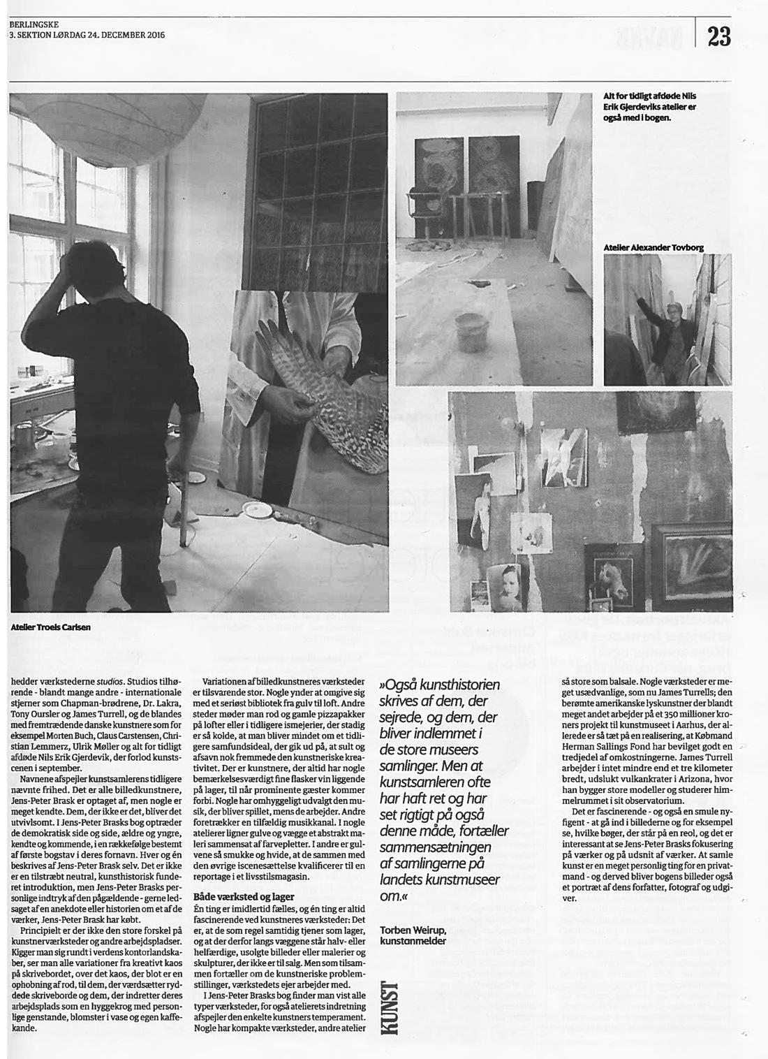 Berlingske Tidende, 24. december 2016