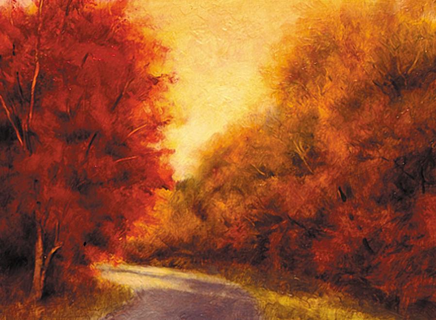 Maple Drive Study - 12x18