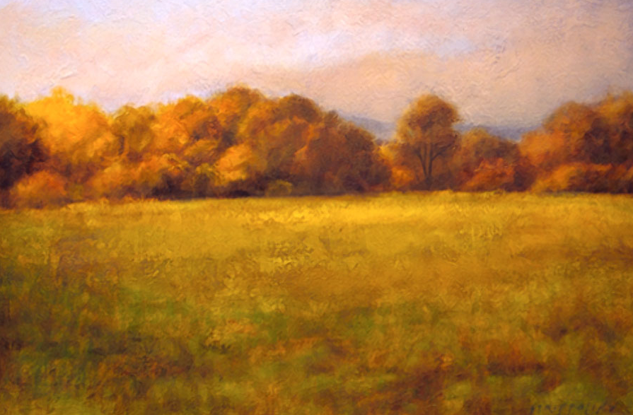 Field With Treeline II - 24x36