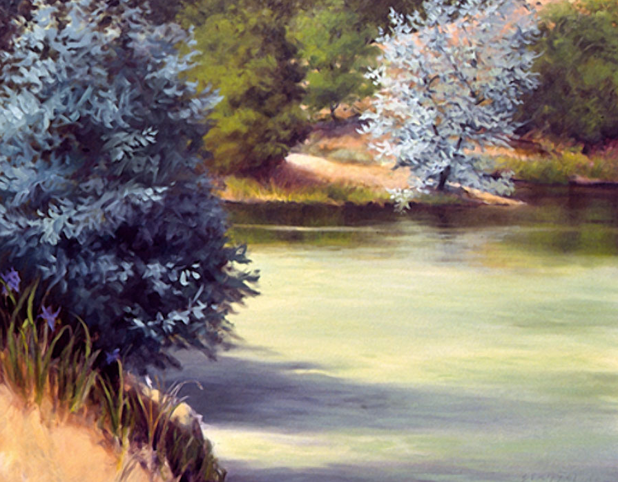 Summer Pond - 48x60