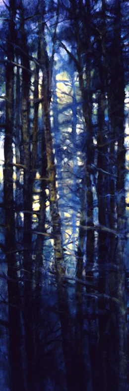Tree Squeeze #1 - 72x24 Sold