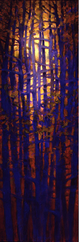 Tree Squeeze #5 - 72x24 Sold
