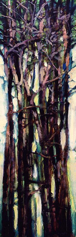 Tree Squeeze, Study #15 - 36x12