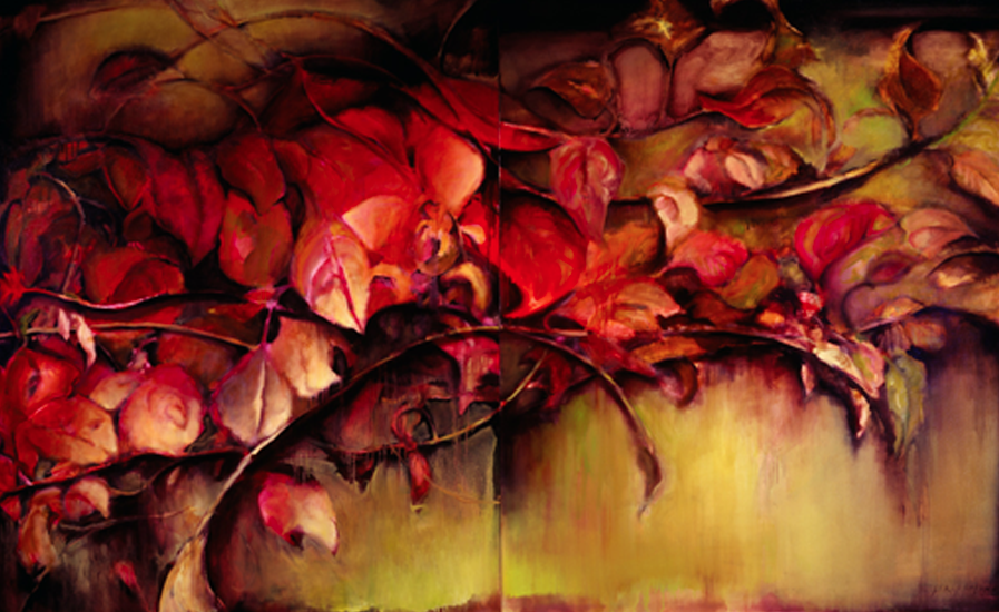 Sprigs of Autumn - 66x108