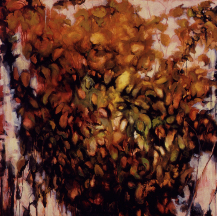 Autumn Dogwood - 72x72