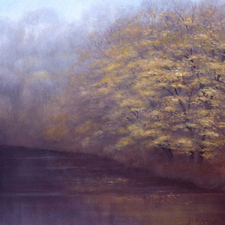 Misty River Study - 32x32