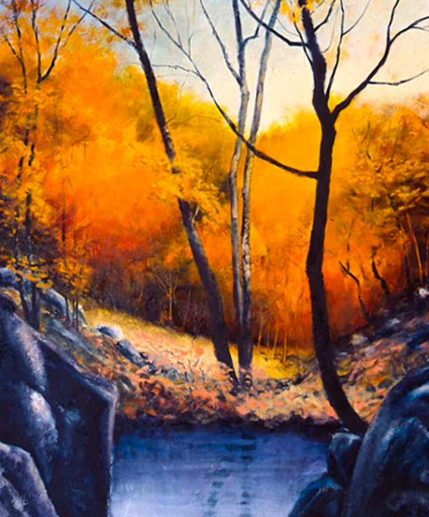 Inviting Tree Forms - 60x50
