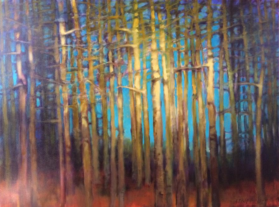 Tree Forms #2 - 36x48