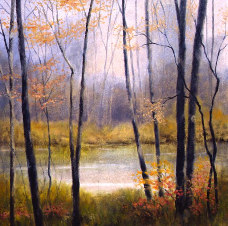 Woodland Mist Series VI - 32x32