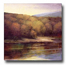 LATE SEPTEMBER SHORE Image: 27.5 x 27.5, Paper: 27.5 x 27.5