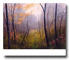 WOODLAND MIST Image: 22 x 28, Paper: 24 x 28
