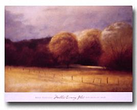 MELLOW EVENING GLOW Image: 24 x 36, Paper: 27 x 36