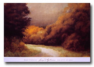 LANGUID AFTERNOON Image: 26 x 42, Paper: 29 x 42